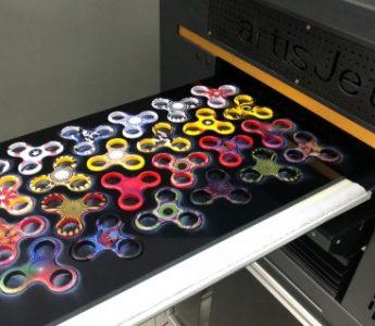 Impresión UV Led directa en fidget spinners